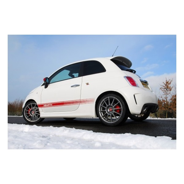 D co lat rale fiat 500 abarth dp performance for Decoration murale fiat 500